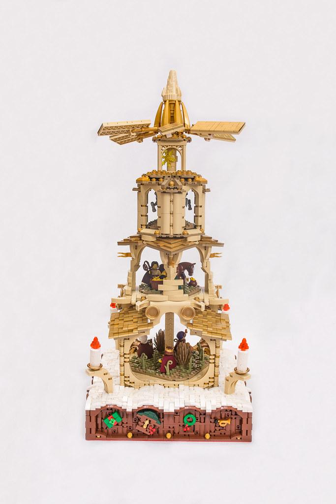 [BuildtheBrick #2]: Weihnachtspyramide 23848753386_7c9a3bf519_b