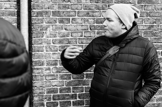 "14/365 Voices of the street ""gadens stemmer"""