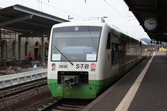 Erfurter Bahn - EIB u. Südthüringenbahn - STB
