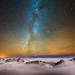 Our Galaxy over Goatfell by Peter Ribbeck