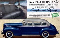 1941 Hudson Six Sedan