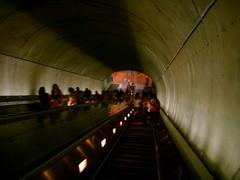 Washington DC Metro Woodley Park-Zoo Escalator 02072005