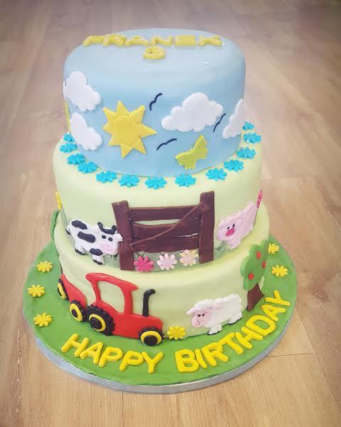 Farm Cake by Paula Witek
