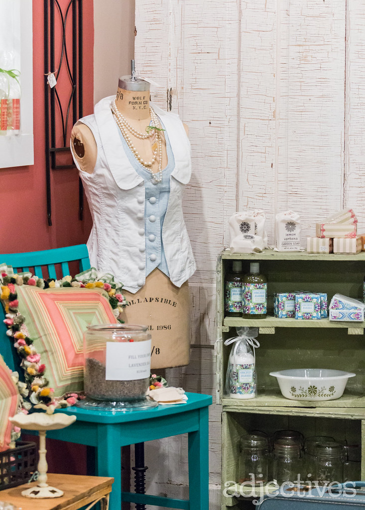 Adjectives Featured Finds in Winter Garden by The Rusty Gate Antiques