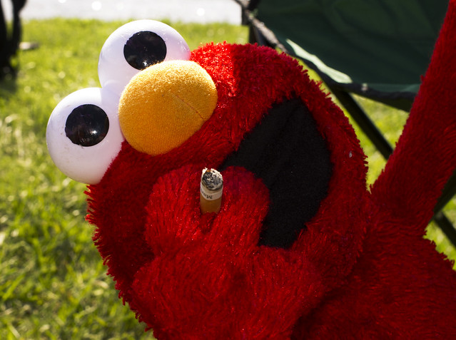 Elmo is so cool!! Now he looks just like Gramma!