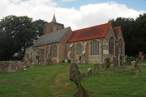 St Michaels Church near Roydon Hall