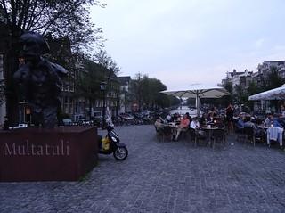 Image of Multatuli. 2015 zomer nederland netherlands niederlande noordholland north holland amsterdam singel sculpture sculptuur multatuli beeld standbeeld statue summer