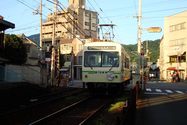 2015/08 叡山電車×NEW GAME! ラッピング車両 #27
