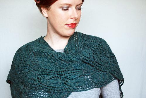 Galax shawl