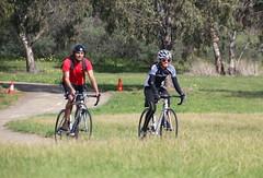 Cycling the Merri Creek Path at Fawkner