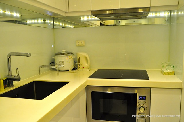 Kitchen Facilities at Alcoves 10 Makati