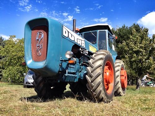 Dutra at Traktorfreunde