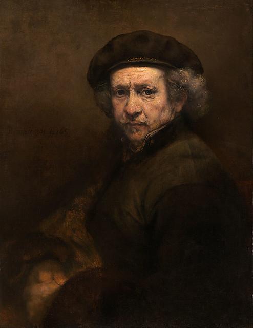 Rembrandt van Rijn, Self-Portrait, 1659-
