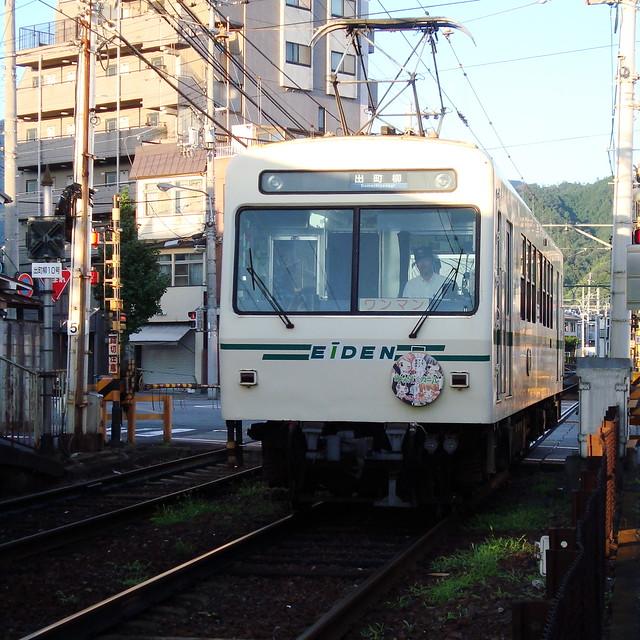 2015/08 叡山電車×わかばガール ヘッドマーク車両 #16