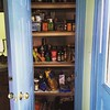 My project of the last couple of weeks is finished. Pantry is clean, organized, and the shelves are lined.