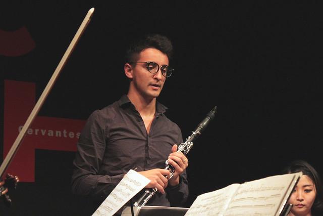 Photo:Clarinete y cuarteto de cuerdas / クラリネットと弦楽四重奏コンサート By Instituto Cervantes de Tokio