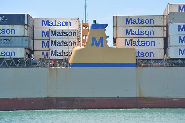 Lihue port stack