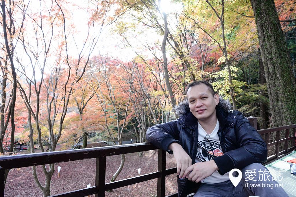 京都赏枫景点 神护寺 砚石亭 12