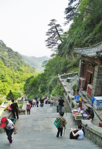 CH-Mont Taishan-Descente-Escalier (1)