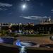 Super Moon Rising : September 27, 2015 by jpeltzer