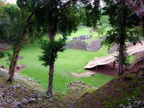 Las ruinas de Copan