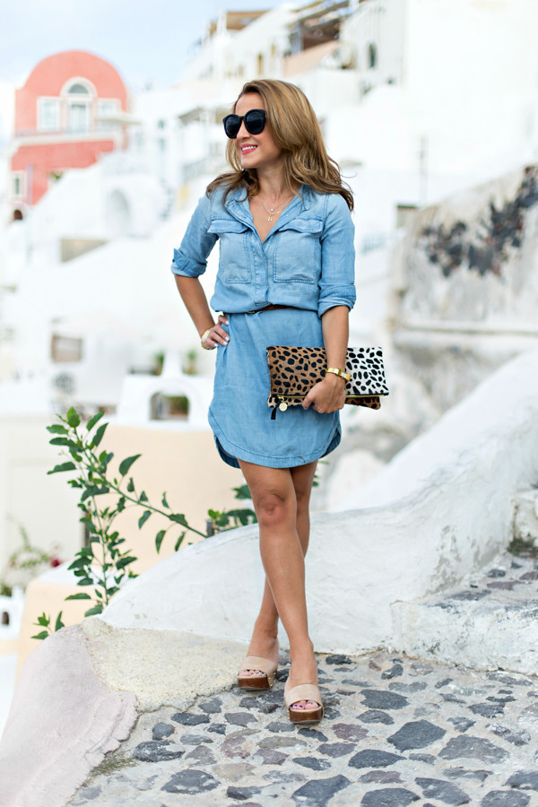 Chambray in Santorini