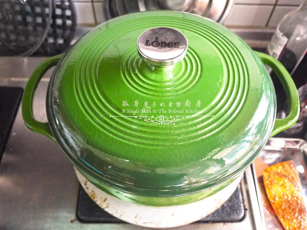 孤身廚房-蕃茄橄欖燴雞肉佐番紅花香米24