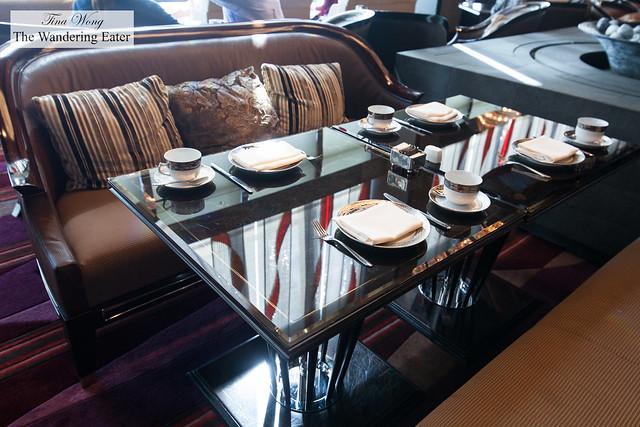 Banquette seats