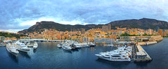 Harbor Monte Carlo at dawn