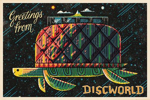 Discworld Postcard