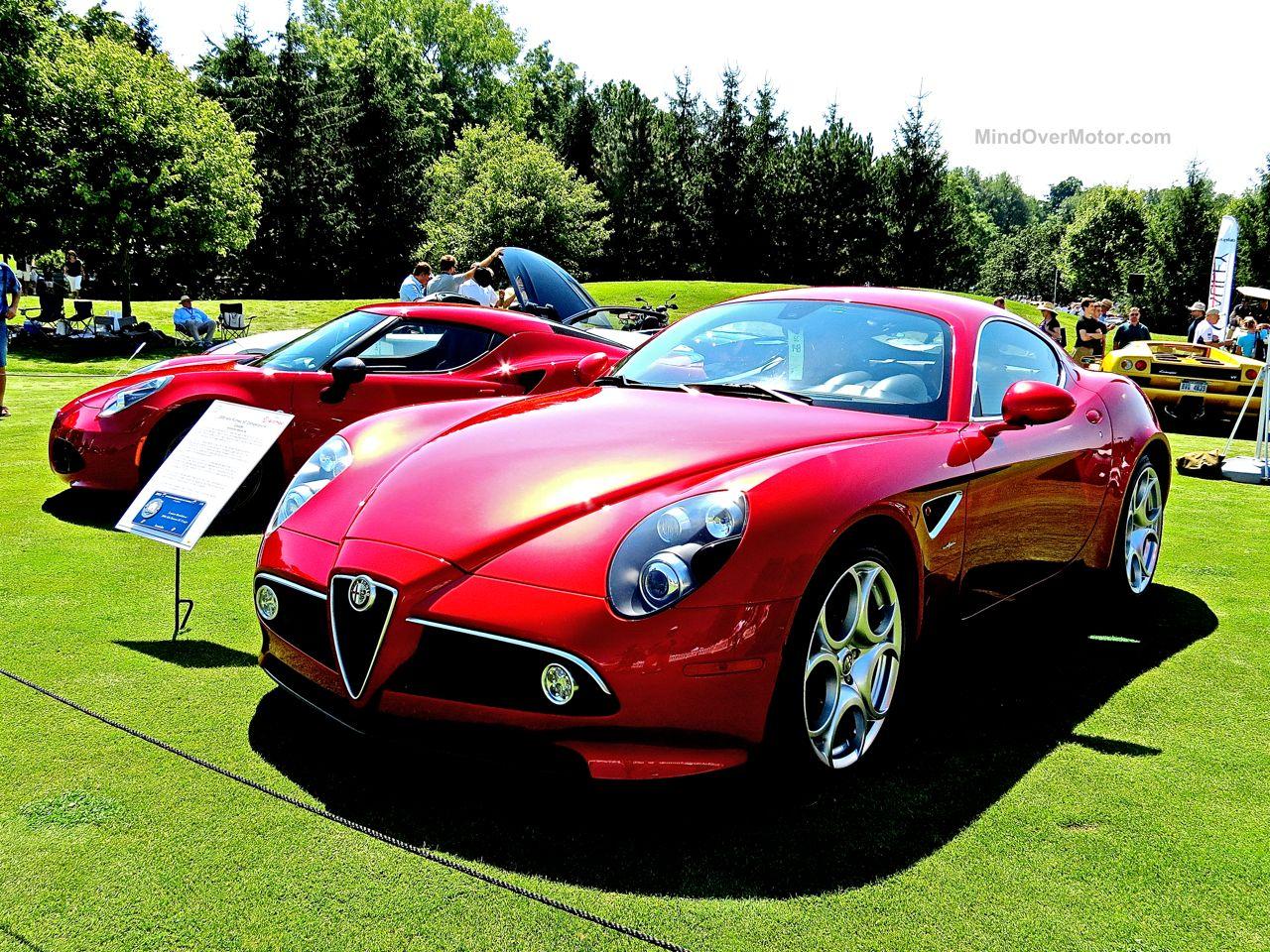 Alfa Romeo 8C Concours of America