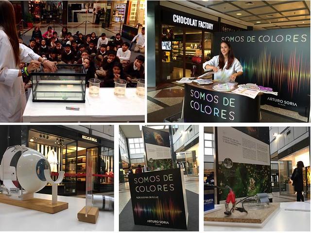 2015. Somos de Colores. Centro Comercial Arturo Soria Plaza. Semana de la Ciencia