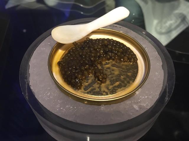Black caviar - Da Dong Roast Duck Restaurant