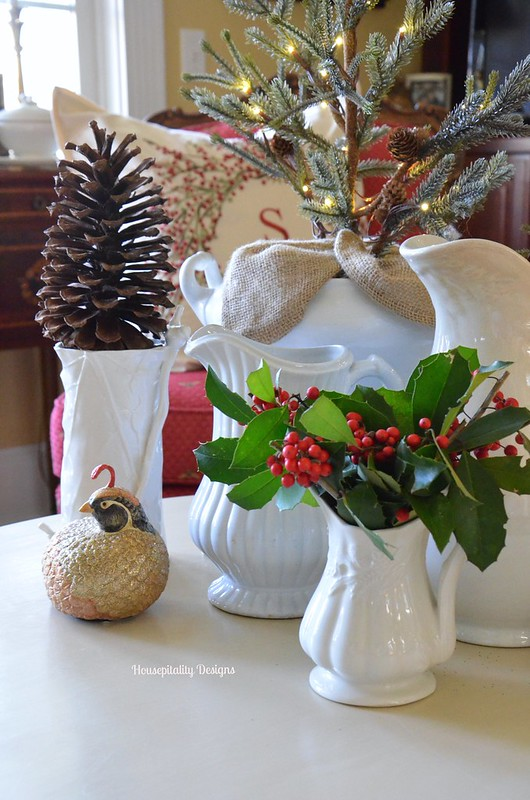 Ironstone Christmas Vignette - Housepitality Designs