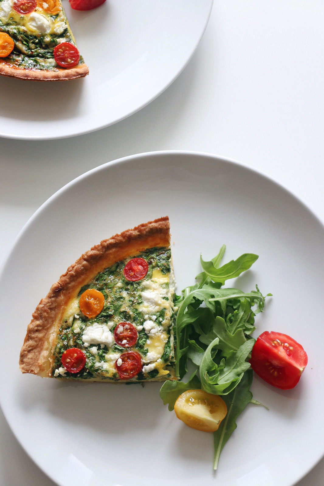 spinach & goat cheese quiche 5
