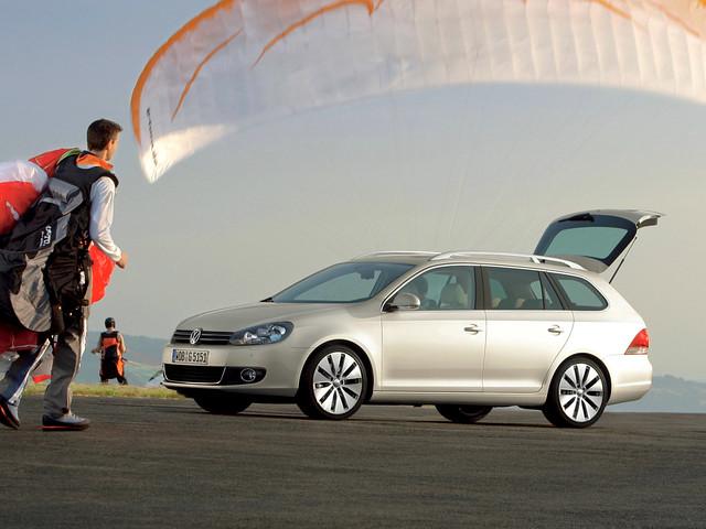 Универсал Volkswagen Golf Variant (Typ 5K). 2009 – 2012 годы