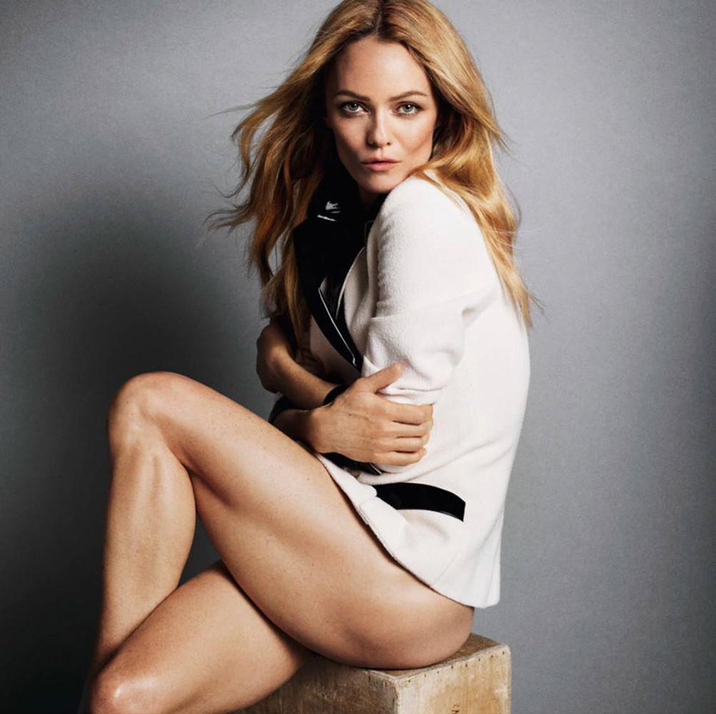 Ванесса Паради — Фотосессия для «Vogue» FR 2015 – 6