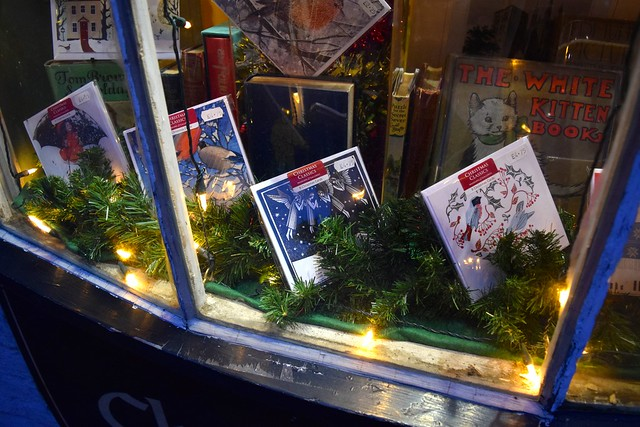 Christmas Cards at The Chaucer Bookshop, Canterbury | www.rachelphipps.com @rachelphipps