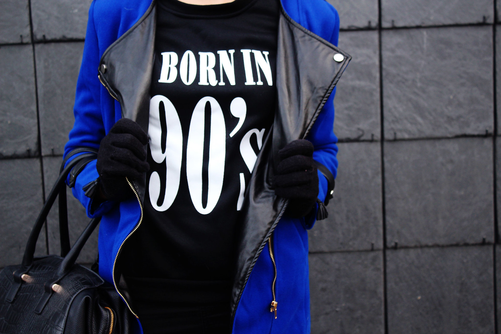 born in 90's sweatshirt