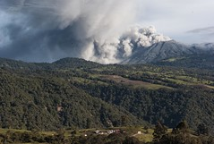 Volcán Turrialba, Costa Rica.