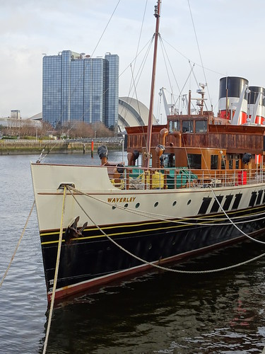 PS Waverley in winter layup