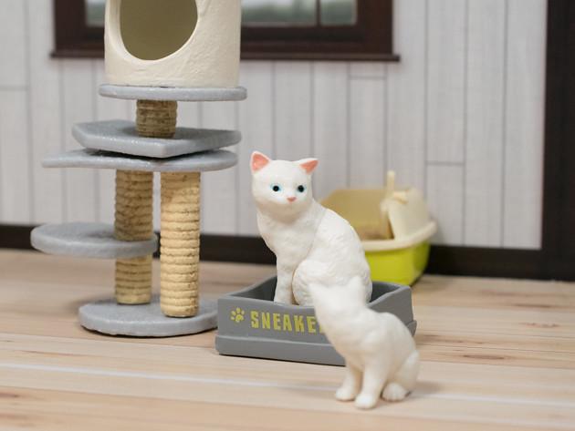 ちょこっとレビュー エポック カプセルトイ ふりむき猫
