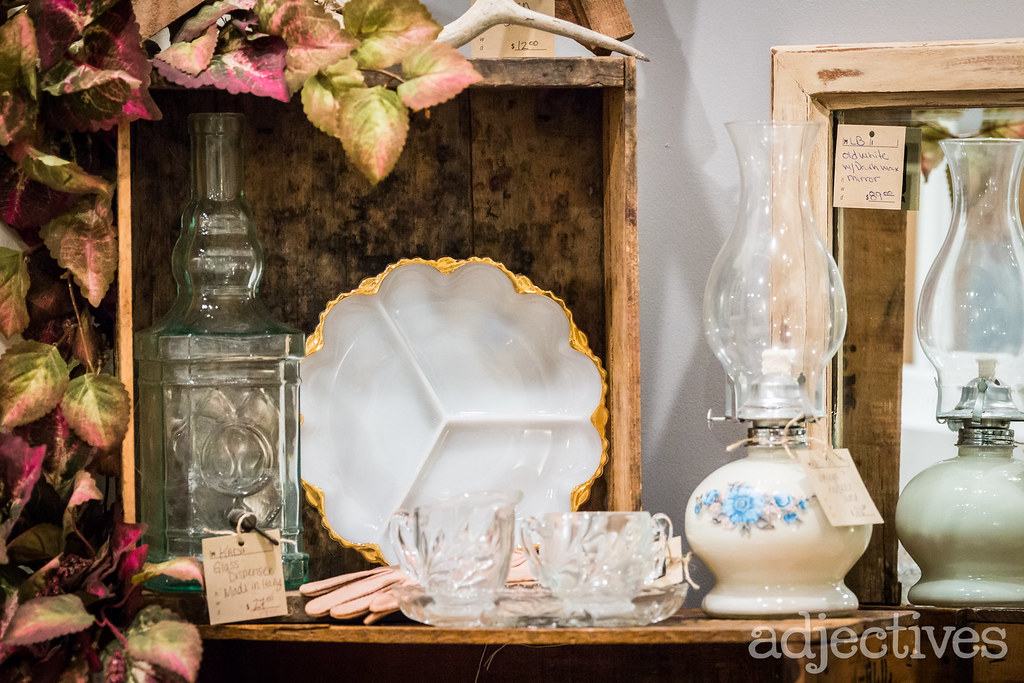 Adjectives Featured Finds in Winter Garden by Kelly Ann Decors