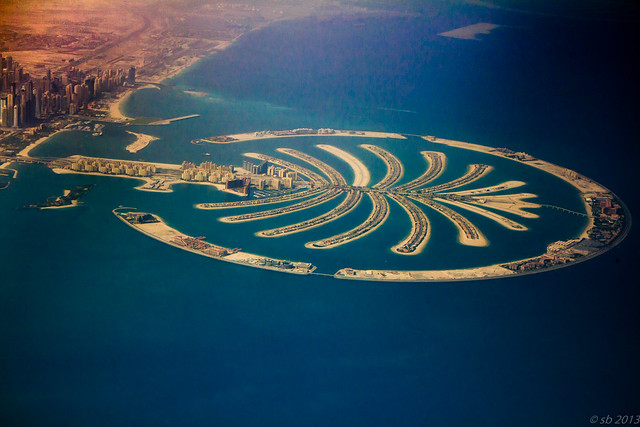 Leaving Dubai - Palm Islands