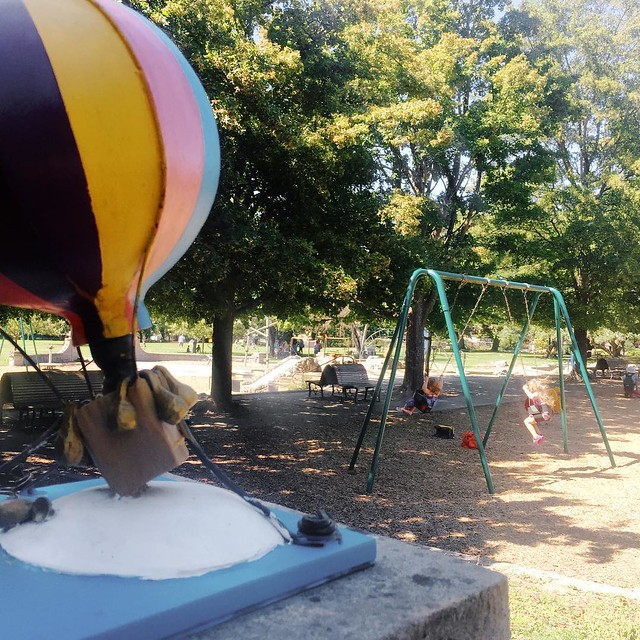 Swinging at the Park #100DaysofSummer2015