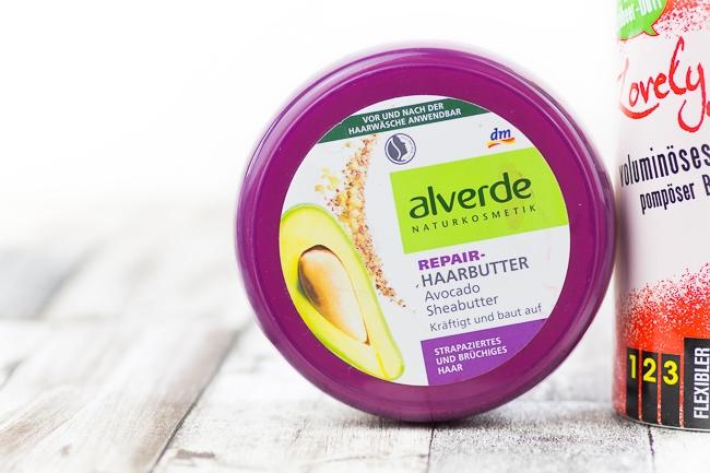 Aufgebraucht Post, Aufgebraucht Juni, Alverde Repair-Haarbutter Avocado Sheabutter