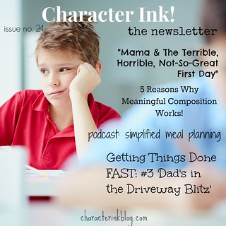 Character Ink! Newsletter no. 24