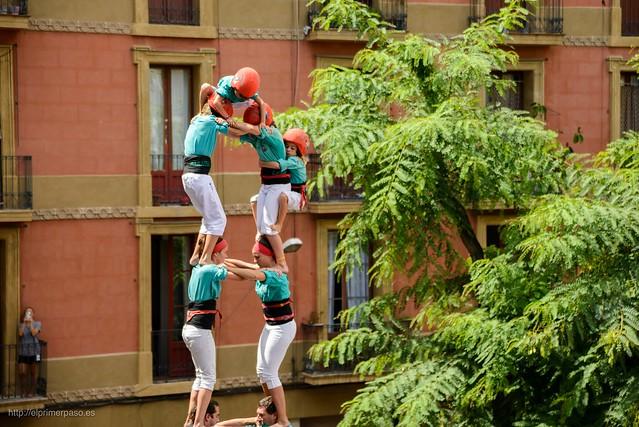 Barcelona - Castells Fiestas de Gràcia 2015