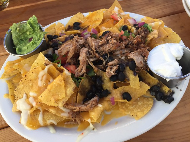 Pork nachos - Pono Ranch