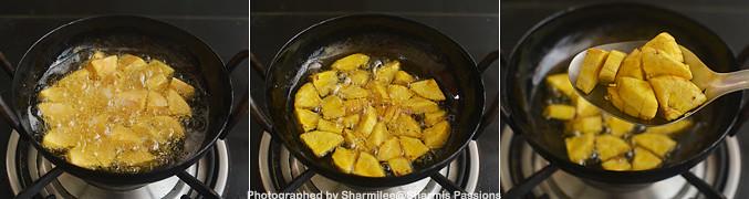 How to make Sharkara Upperi - Step1
